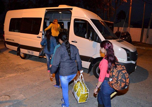 Guerrilleros indultados dejan la cárcel