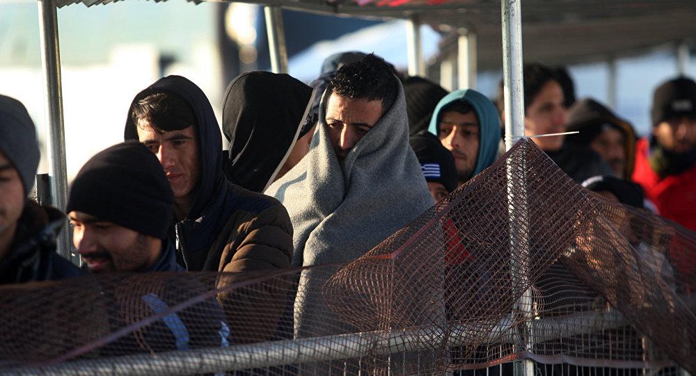 Refugiados en Europa (archivo)