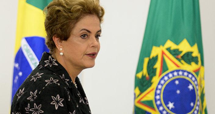 Actualidad: La expresidenta Rousseff califica de