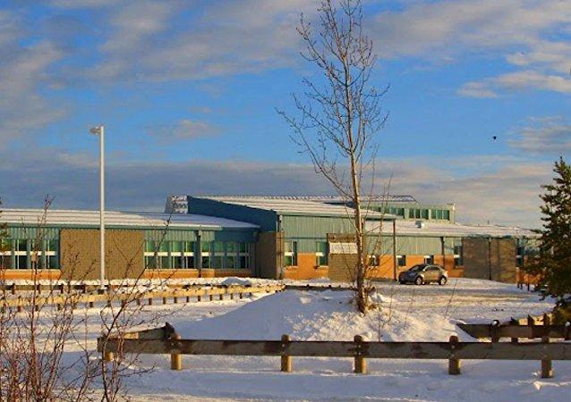 La escuela donde tuvo lugar el tiroteo