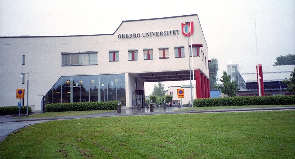 Universidd de la ciudad sueca de Orebro, archivo