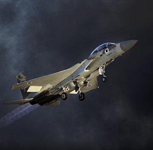 Avión de las Fuerzas Aéreas de Israel (archivo)