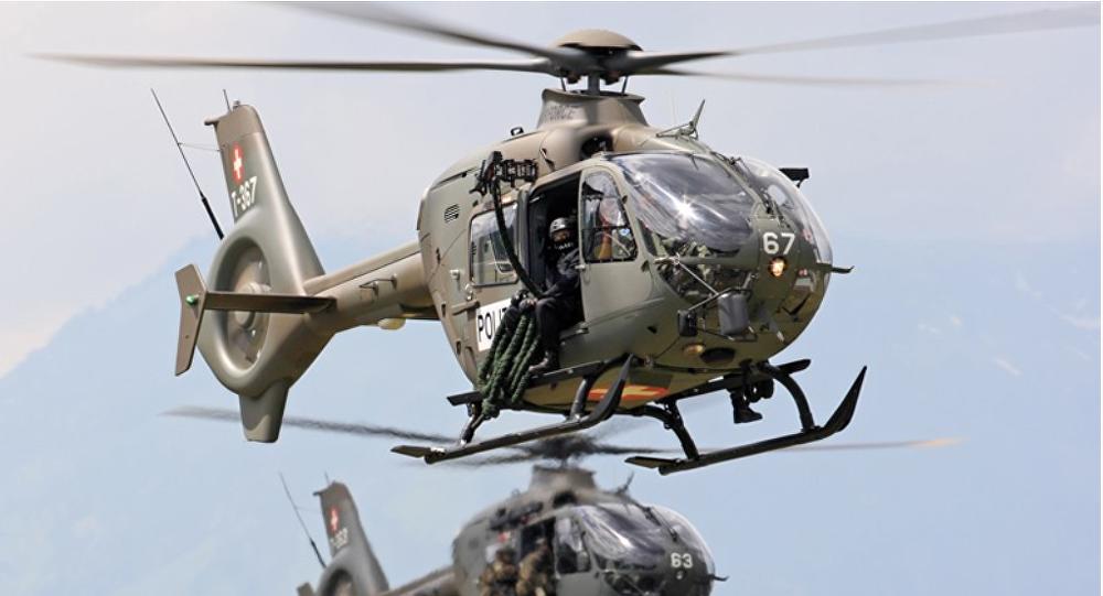Helicópteros H135 de la empresa Airbus Helicopters