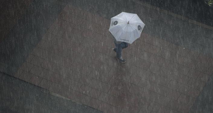 Lluvias en la capital de Ecuador, Quito