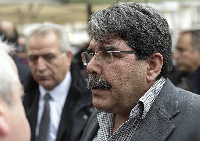 Salih Muslim, copresidente del Partido de la Unión Democrática