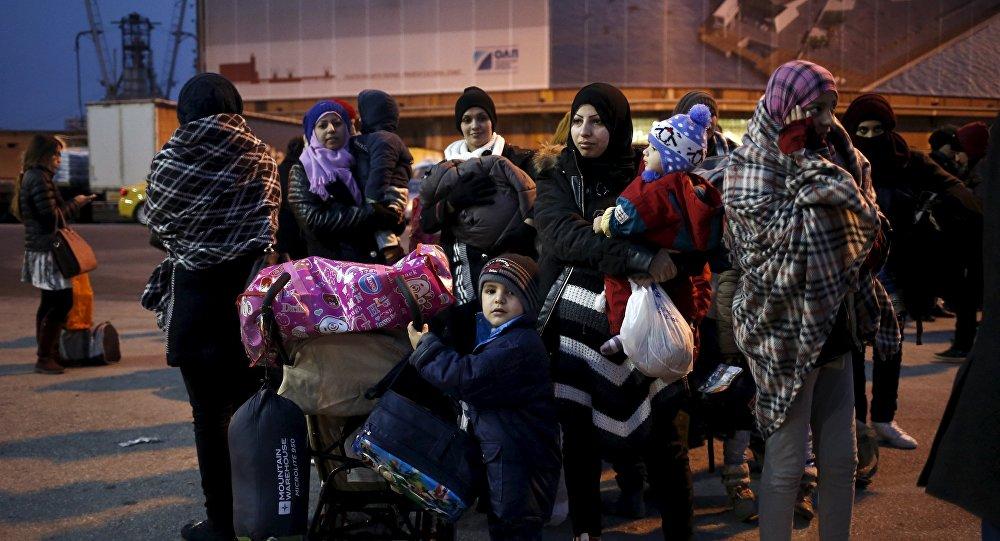 Refugiados y migrantes en Grecia