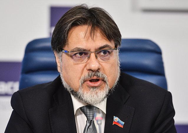 Vladislav Deinego, representante de Lugansk en el Grupo de Contacto para Ucrania