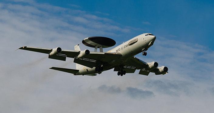 Avión Boeing E-3 Sentry AWACS