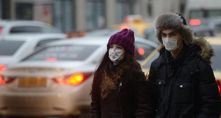 Epidemia de gripe en Moscú