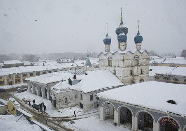El Kremiln de Rostov