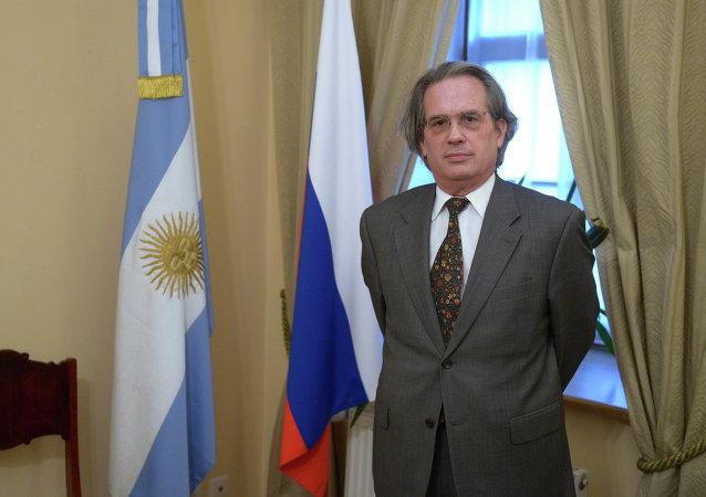 Pablo Tettamanti, embajador de Argentina en Rusia