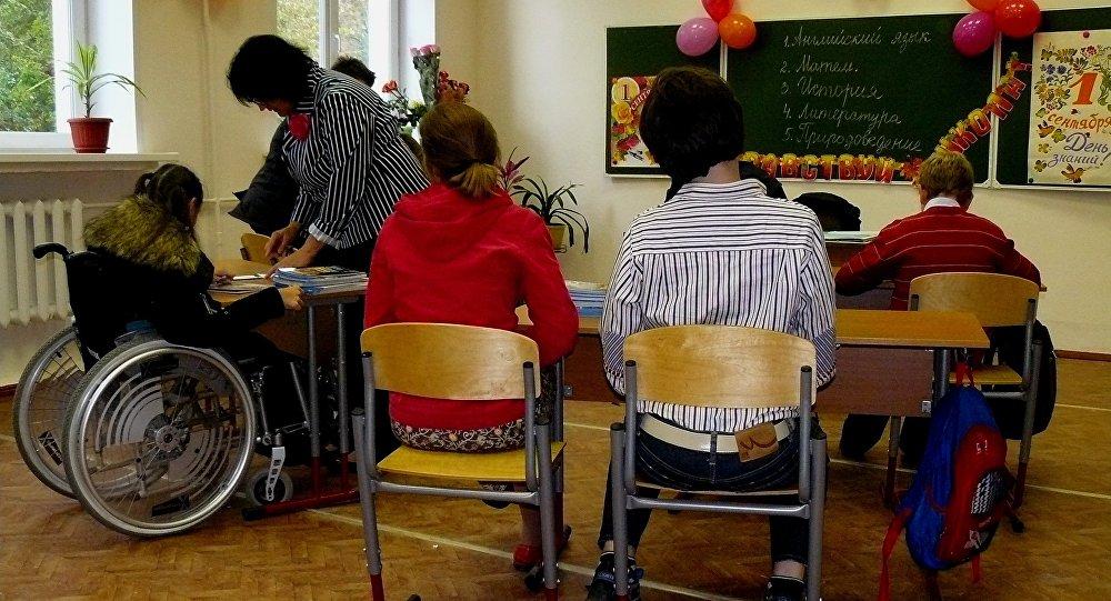 Una quinta parte de las escuelas rusas podrán acoger a niños discapacitados