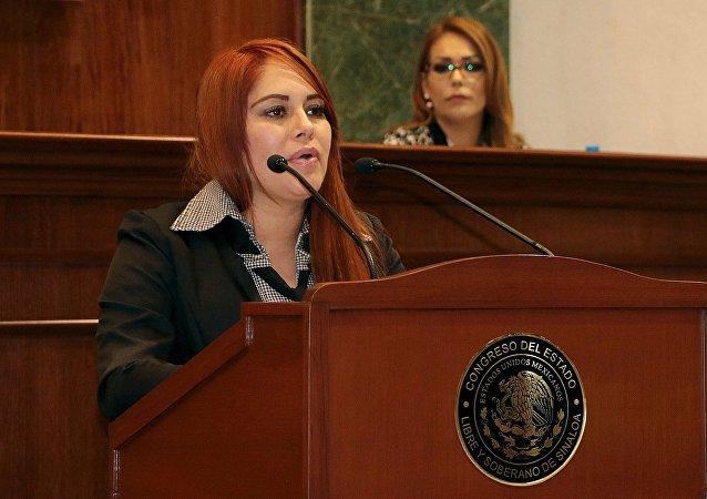 Lucero Sánchez, diputada mexicana