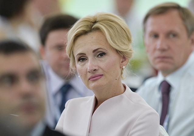 Irina Yarovaya, presidenta del comité de seguridad y lucha contra la corrupción de la Duma