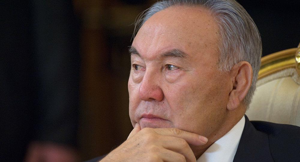 Nursultán Nazarbáev, el presidente de Kazajistán
