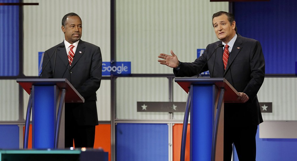 Candidatos a la presidencia de EEUU, Ben Carson y Ted Cruz