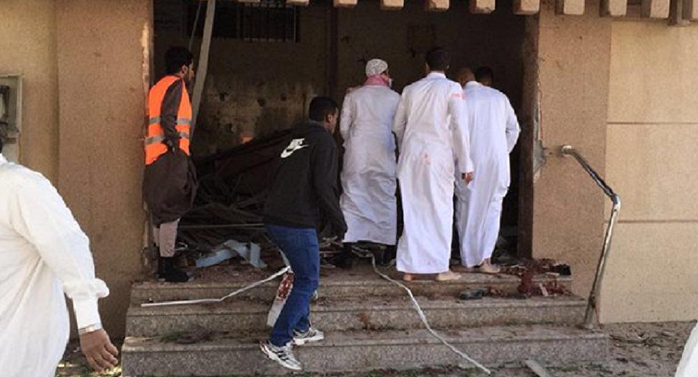 Explosión en una mezquita en Arabia Saudí