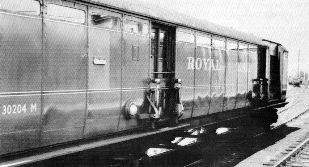 El tren Glasgow-Londres interceptado por la banda de Gordon Goody (archivo)