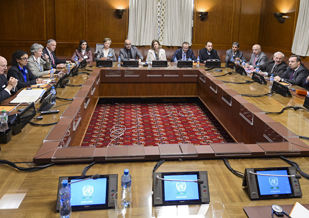 Negociaciones sobre Siria en Ginebra (archivo)