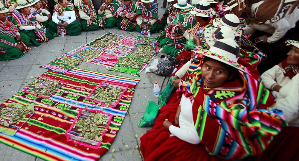 Las indígenas de Bolivia