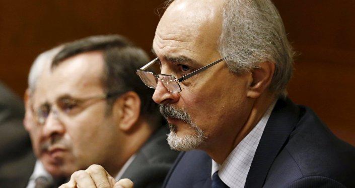 Bashar Jafari, representante permanente de la nación árabe ante la ONU