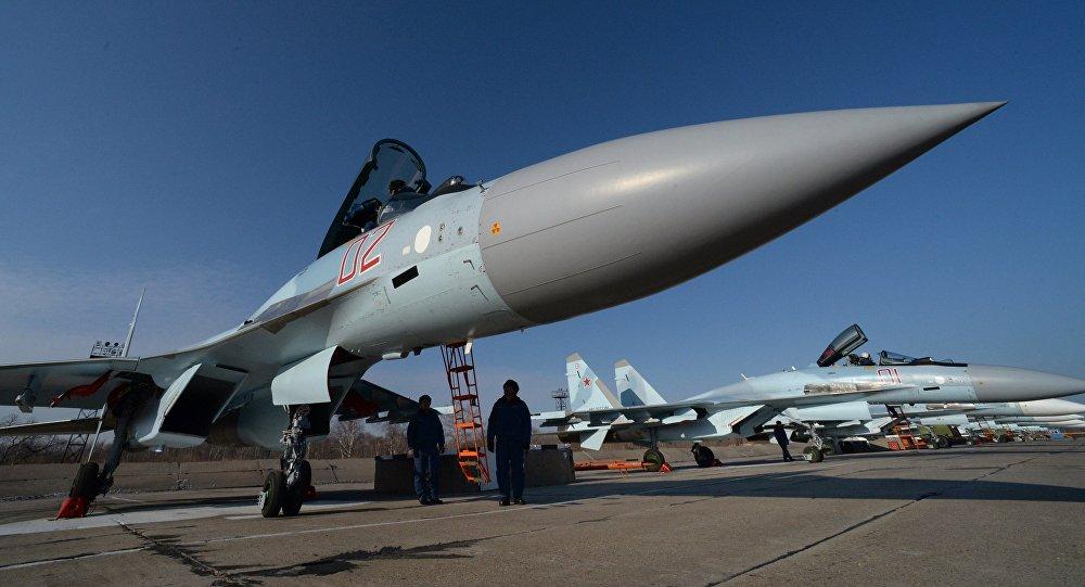 Caza ruso Su-35s de la generación 4++