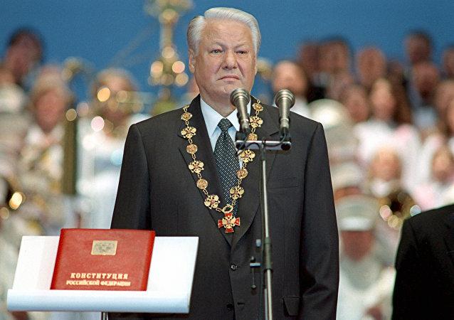 Borís Yeltsin, primer presidente de Rusia