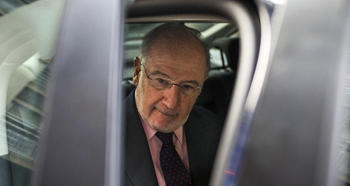 Rodrigo Rato, exdirector del Fondo Monetario Internacional