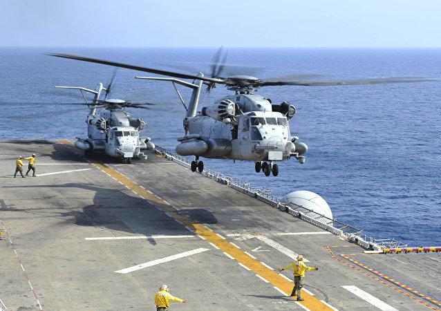 Helicópteros estadounidenses CH-53