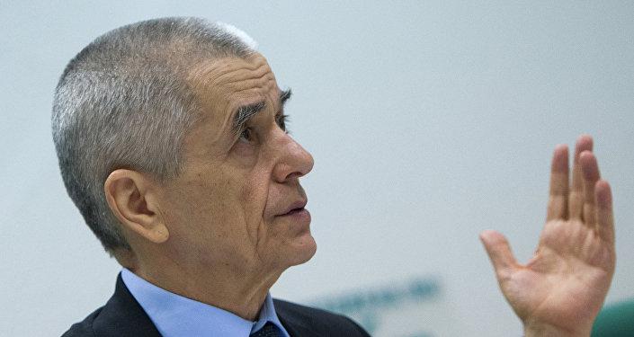 Guennadi Oníschenko, exjefe sanitario de Rusia
