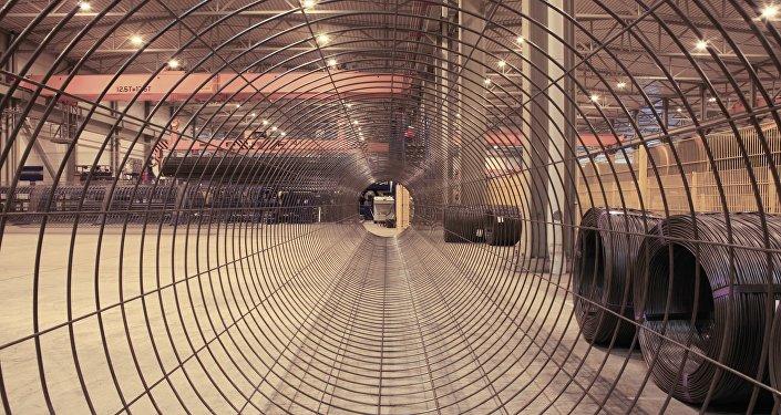 Producción de tuberías para el gasoducto Nord Stream