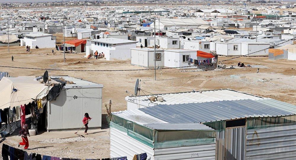 Campo de refugiados en Jordania (archivo)
