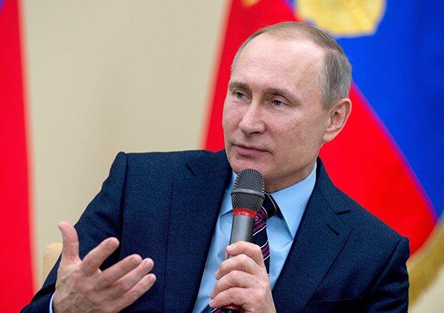 Vladímir Putin, el presedinte de Rusia