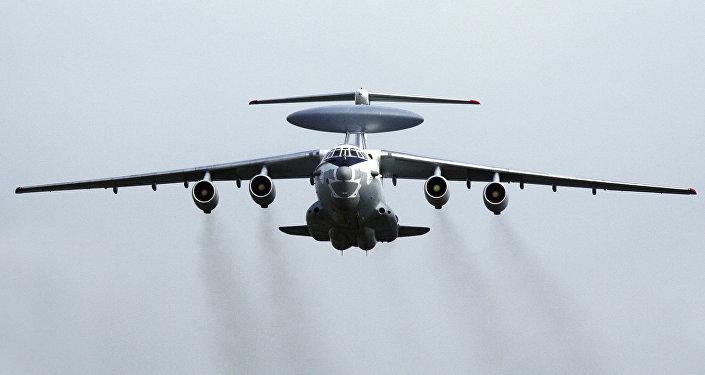 El avión de reconocimiento ruso A-50