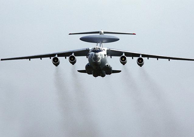 El complejo aéreo de alerta temprana y control aerotransportado A-50 (archivo)
