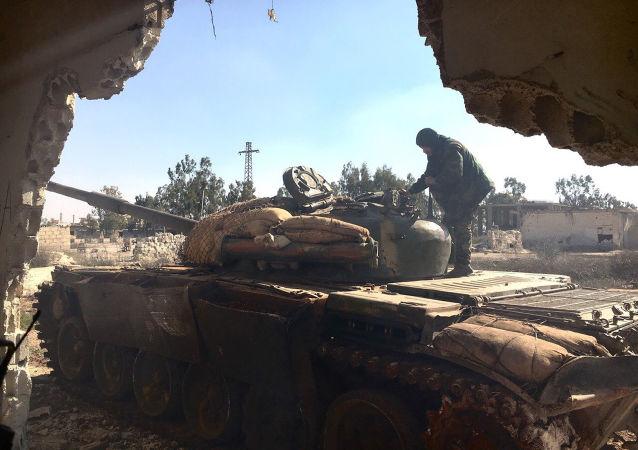 La liberación de Osman por el ejército sirio