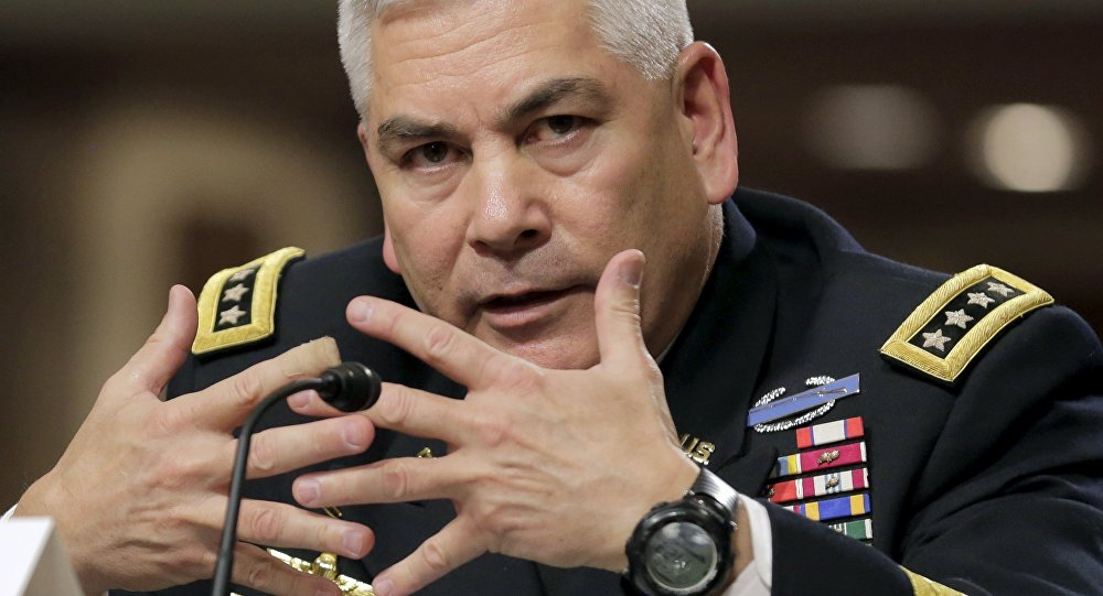 General John Campbell, el comandante de las Fuerzas de EEUU en Afganistán