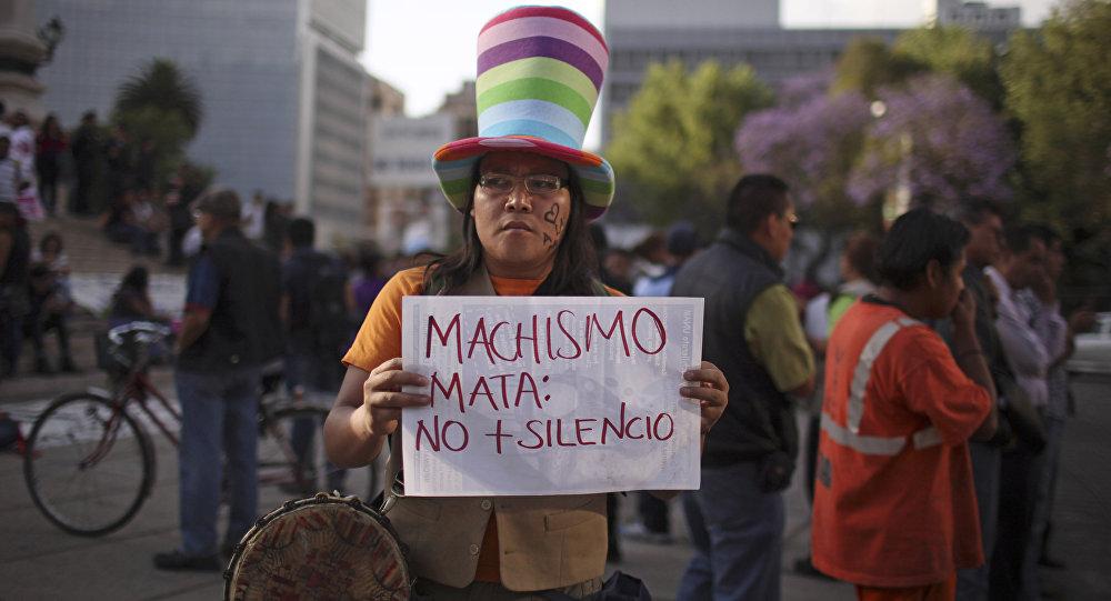 Una manifestación contra machismo (archivo)