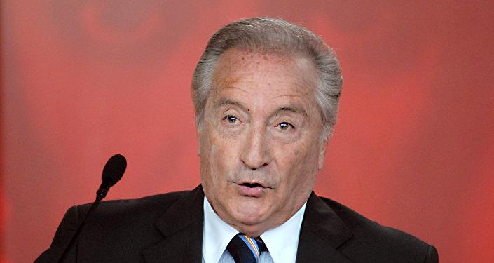 Eugenio Figueredo, exvicepresidente de FIFA