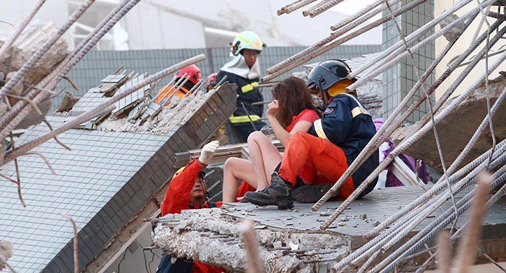 Consecuencias del terremoto en Taiwán