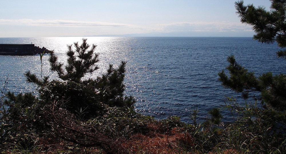 La isla Izu Oshima