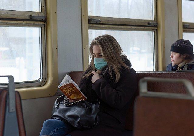 Epidemia de gripe en Rusia