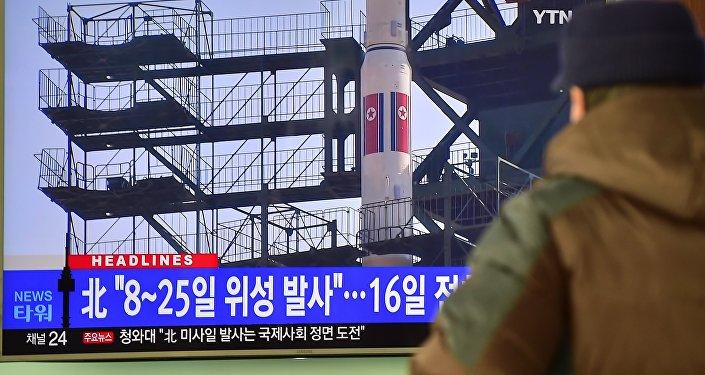 Corea del Norte da por exitoso el lanzamiento del misil de largo alcance