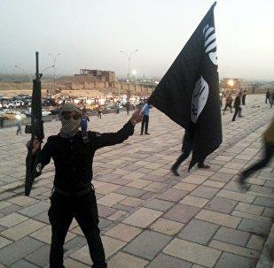 Militantes de Daesh en Mosul, Irak