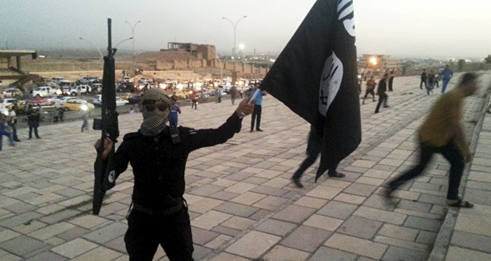 Militantes de Daesh en Irak