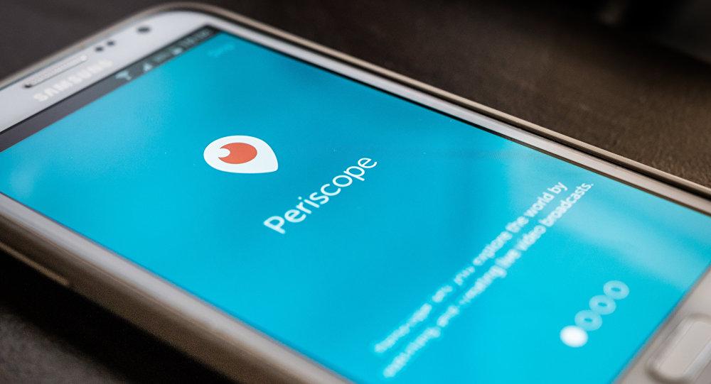 Aplicación de Periscope
