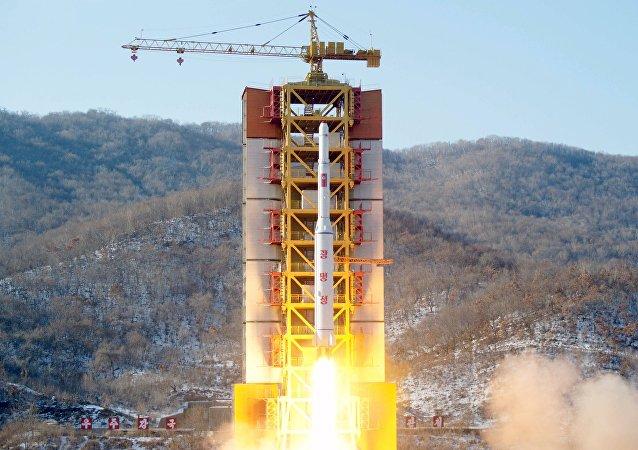 Lanzamiento de cohete realizado por Corea del Norte