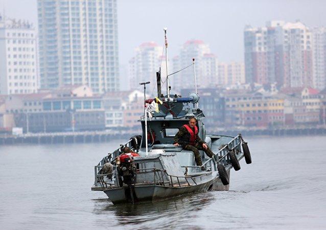 Una lancha patrullera de Corea del Norte (archivo)