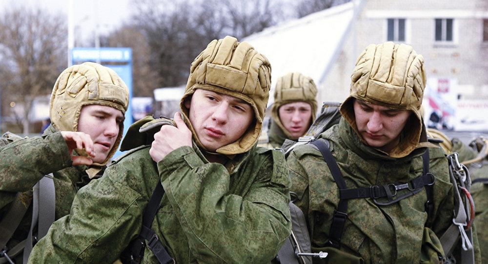 Los paracaidistas rusos