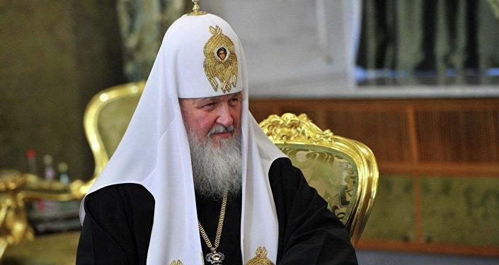 Patriarca Kirill de Moscú y toda Rusia